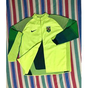 064eb1c71ac11 Jaqueta Nike Brasil Rio 2016 - Casacos no Mercado Livre Brasil