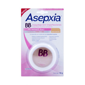 Maquillaje Asepxia Bb Fps 15 Beige Claro 10g Genomma Lab