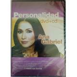 Ana Gabriel- Personalidad/ Dvd+ Cd Nuevo Y Original
