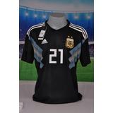 Camisa Argentina Preta - Camisa Argentina Masculina no Mercado Livre ... abb344fedab03