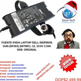 Fuente Para Laptop Dell Inspiron 1545 (df263) (06tmic) -12,