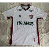 Camisa Fluminense Dryworld 114 Anos De Jogo  13 Douglas e356a586ace9c