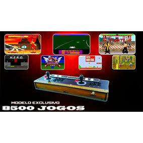 Fliperama Portátil 8500 Jogos, Sensor Óptico Frete Grátis