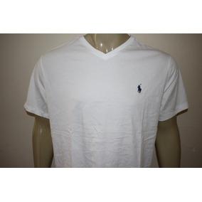 b39cda9a5e Camiseta Masculina Gola V Polo Ralph Lauren Diversas Cores
