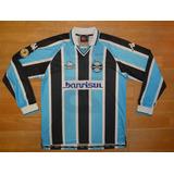 Camisa Gremio 2002 De Jogo no Mercado Livre Brasil b9986c2d9dcd9