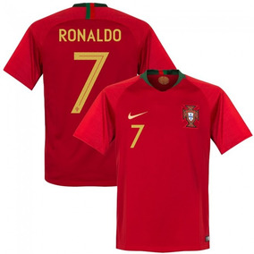 Camiseta Portugal 2018 - Camisetas Rojo en Mercado Libre Argentina d86a81800283a