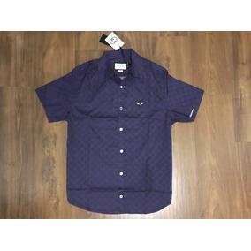 Camisa Lacoste - Camisas Violeta escuro no Mercado Livre Brasil df7d64b8a8