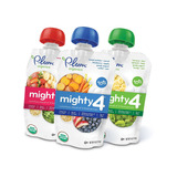 Snack Bebé Plum Organics Mighty 4 4 Oz 18 Pz -yogurt
