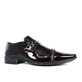 7181be4cee134 Sapato Social Masculino Verniz - Sapatos para Masculino Chocolate no ...