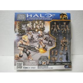 Enigma777 Mega Bloks Halo Unsc Desert Combat Unit 53 Pzs