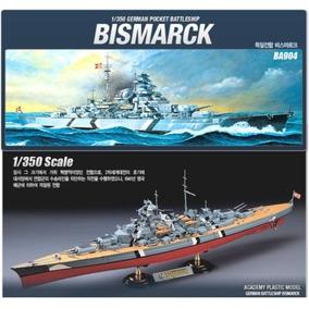 Academy Barco Acorazado Bismarck 1/350 Supertoys Envios