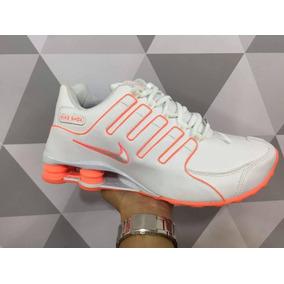 b8d9e50e72e Nike Shox Feminino Bahia - Tênis Laranja no Mercado Livre Brasil