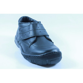 Zapatos Escolares Miniburbujas Negro Niño 18 A 20.5 E9037