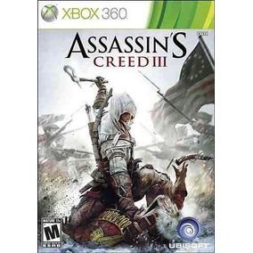 Jogo Novo Lacrado Assassins Creed 3 Pra Xbox 360