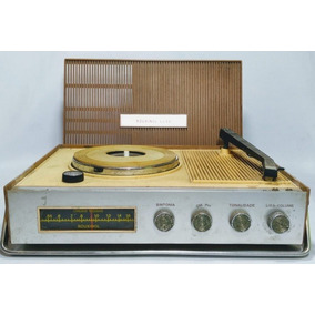 Antigo Rádio Vitrola Rouxinol Anos 60