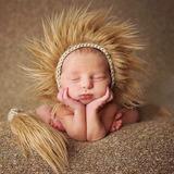 Acessórios Newborn Leao Bebe Selva Para Ensaio Fotográfico c88764830d6