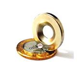 f44d8a415f9 Ímãs Neodímio Super Imas Anel Furo 23x14x8x3 Mm Sup 3kg 4 Pç