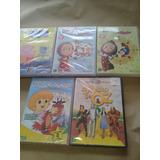 Lote 5 Dvds Infantil Masha Peppa Pequeno Principe E Magico