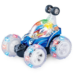 Diezhongdie Stunt Car Toy Control Remoto Stunt Car Toy, Blue