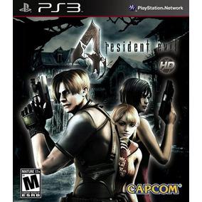 Resident Evil 4 Re 4 Ps3 Psn Play 3 Envio Imediato