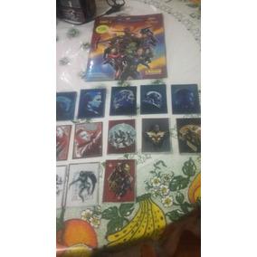 Album Dos Vingadores End Game Novo + 13cards +72 Figurinhas