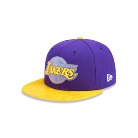 Boné Los Angeles Lakers New Era Nba Hardwood Classics 9fifty - Bonés ... 579b8a0c13c