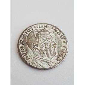 Medalha Antiga Adolf Hitler 1889-1945