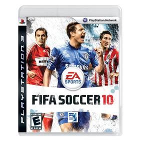 Jogo Fifa Soccer 10 (usado) Ps3