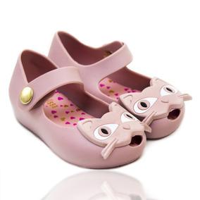 Melissa Rosa Gatinha Infantil - Sapatos no Mercado Livre Brasil 1079c4b088
