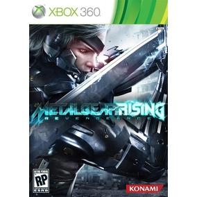 Jogo Metal Gear Rising Xbox 360 Novo Lacrado