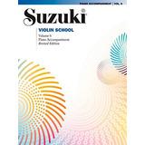 Alfred Suzuki Violín Escuela Piano Acompañamiento Volumen