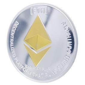 Moeda Física Ethereum - Edição Comemorativa - Especial