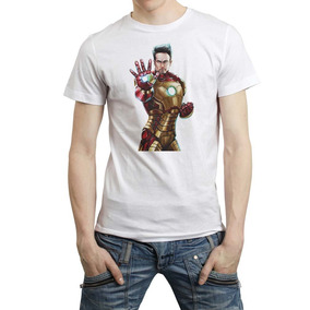 Iron Man Marvel Avenger Infinity War Playera