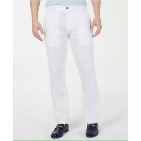 91d73e5473 Cubavera - Pantalón De Lino Casual Fresco Clima Caluroso. 3. 32 vendidos -  Querétaro · Pantalon Blanco De Lino Calvin Klein Hombre 34-32 Original