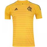 Camisa Flamengo Goleiro Amarela Original 2018 S n° Adulto 5266cb82d07f5