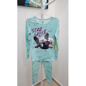 Pijamas Total Girl Con Estampado Dog Niña Talla 10/12