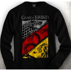 Playera Game Of Thrones Stark Targaryen Lannister Rott Wear