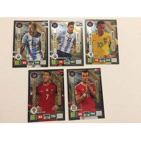 5 Adrenalyn Road To World Cup 2018 Limited Edition E.europa