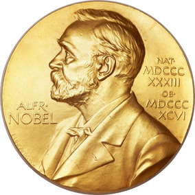 Medalla Premio Nobel Oro 24k Moneda De Colección -65% Off