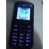 Celular Lg Kp109 Op Claro Funcionado Sem Carregador N0045