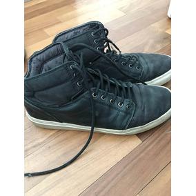 701fd10641062 Zapatillas Vans Hombre - Zapatillas Vans Botitas de Hombre Azul en ...