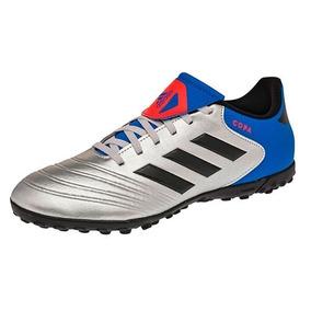 caeb2de64974e Adidas Predator - Tacos y Tenis Adidas Plateado de Fútbol en Mercado ...