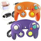 Poulep 2 Packs Clasico Ngc Controladores De Cable Para Wii G