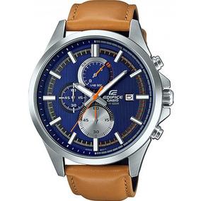 dd2e722558c Relogio Casio Edifice Pulseira Couro - Relógio Casio Masculino no ...
