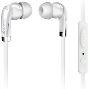 Fone De Ouvido Com Microfone Branco Erp201 Fortrek