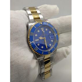 Rolex Submariner Misto Aço E Ouro Ceramica