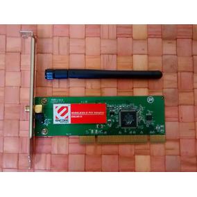 Tarjeta Wifi Encore G 54m Con Antena