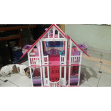 Barbie, Dreamhouse Mansion De 2 Pisos Con Ascensor