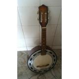 Banjo Caixa De 9 Barato Ótimo Som Medio Grave.