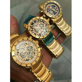 c95db45c21a Relogio Bvlgari Banhado Ouro Pulso - Relógios no Mercado Livre Brasil